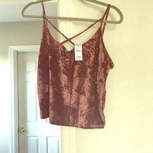 Tully's velvet strait shirt